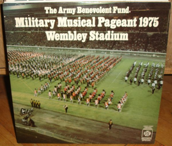 Massed Bands Military Musical Pageant Wembley 1975 2lp Ebay